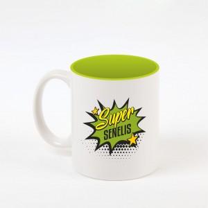 """Senelis"" dekoruotas puodelis"