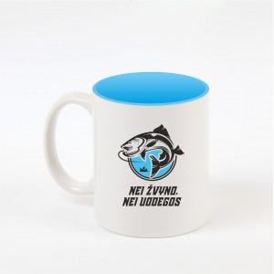 """Žvejyba"" dekoruotas puodelis"