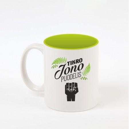 """""""Jono"""" dekoruotas puodelis"""
