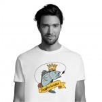 Marškinėliai ŽVEJYBOS KARALIUS