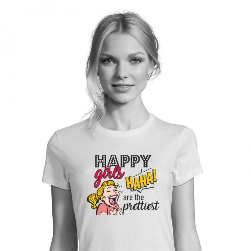 Marškinėliai HAPPY GIRLS
