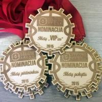 Graviruoti medaliai
